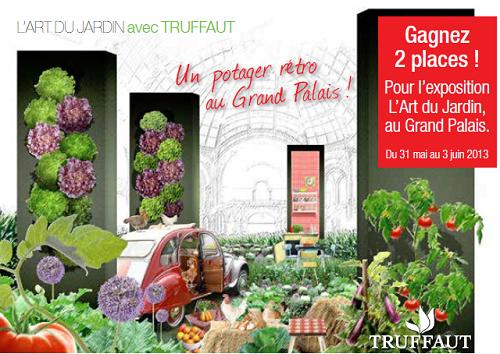 L\'Art du Jardin au Grand Palais avec Truffaut (+ concours) | Knit Spirit