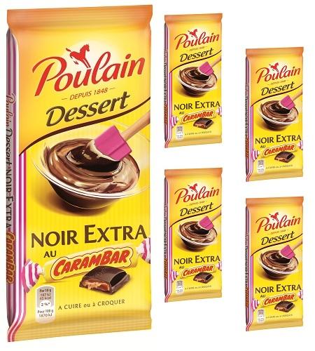 Tablette Poulain Carambar