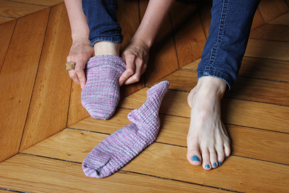 {Tricot} Petty Harbour Socks