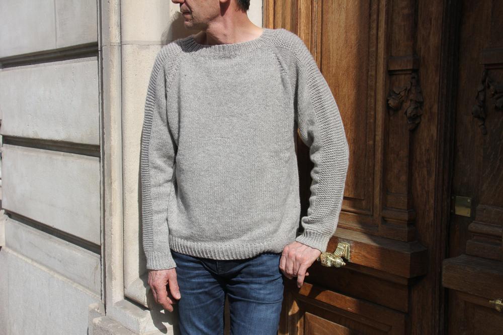 {Tricot} Le pull Flax pour mon Papa