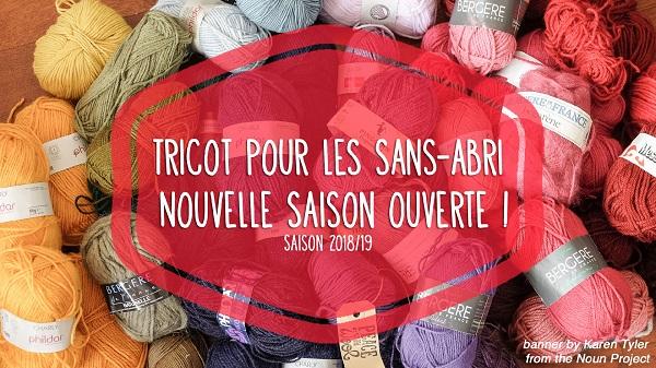 Le tricot pour les sans-abris 2018 / 2019