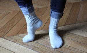 {Tricot} Cascade socks – KnitCrate box août 2018