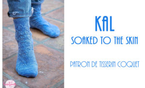 {Tricot} KAL autour des chaussettes Soaked to the Skin