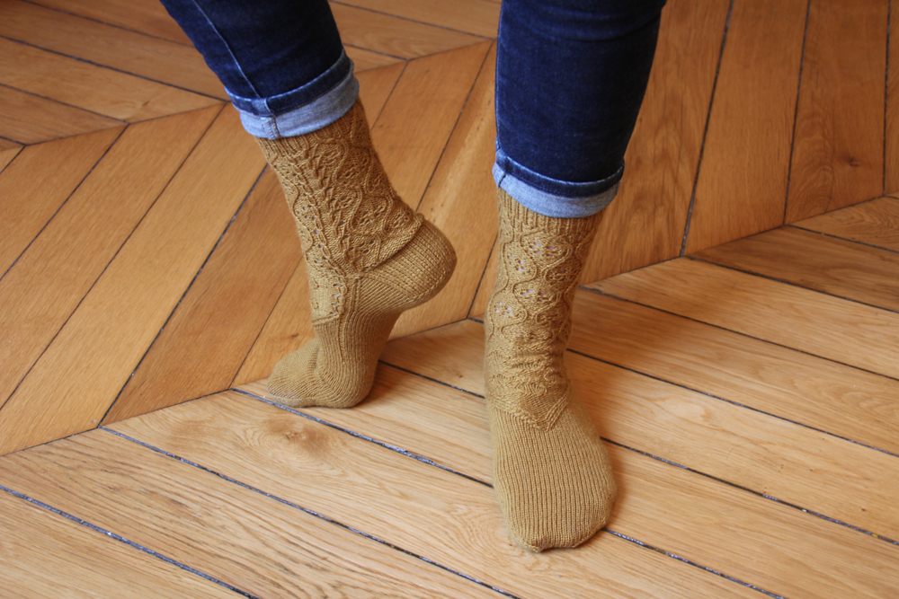 {Tricot} Soaked to the skin socks