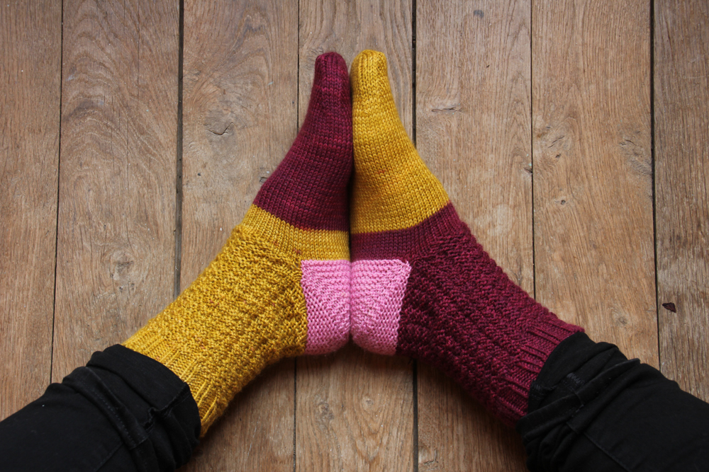 {Tricot} Holiday Candy socks – KnitCrate box décembre 2018