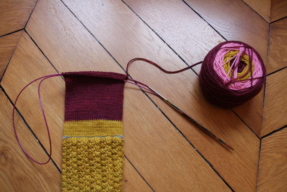 Trucs et astuces pour le tricot en rond en magic loop
