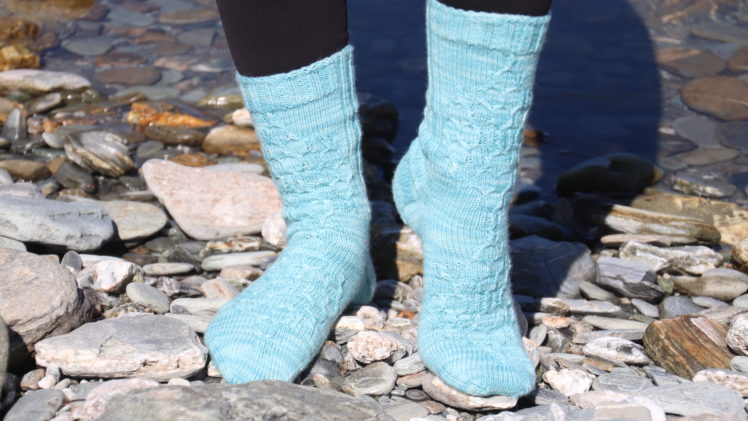 {Tricot} Winter Light socks – KnitCrate box janvier 2019
