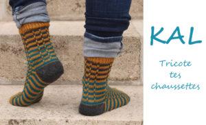 {Tricot} KAL tricote tes chaussettes