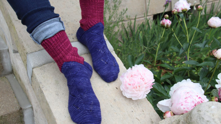 {Tricot} Undergrass socks – KnitCrate box avril 2019