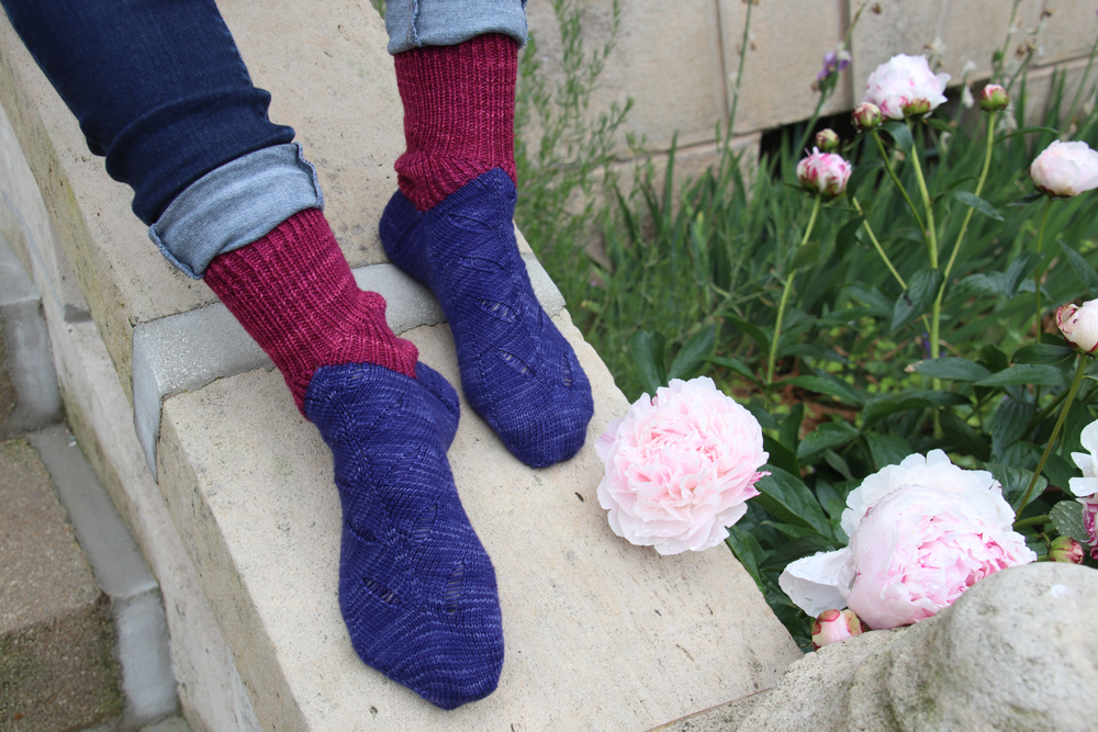 {Tricot} Undergrass socks – KnitCrate box avril 2019