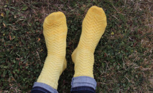 {Tricot} Mister Grace's socks