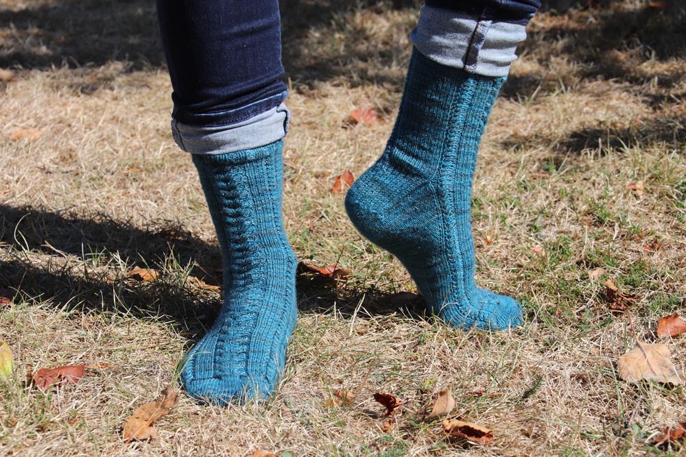 {Tricot} Les chaussettes Twist & Shine – patron pour Écheveau Solidaire
