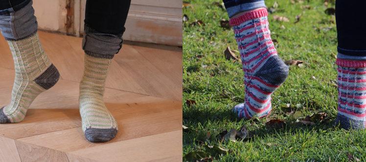 Des chaussettes pour les copines