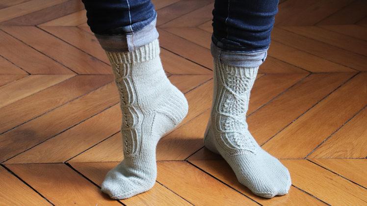 {Tricot} Cloudchaser socks – KnitCrate Février 2020