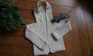 {Crochet} Single Crochet Baby Sweater