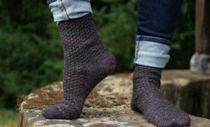 {Tricot} Cosmic socks – patron pour Écheveau Solidaire