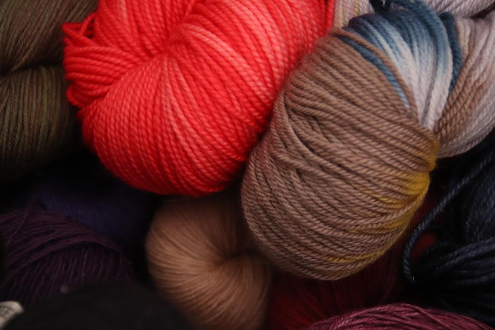 Mon stock (stash) de fils à tricoter sur Ravelry