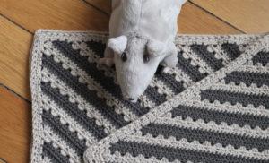 {Crochet} Cosy Stripe C2C Blanket