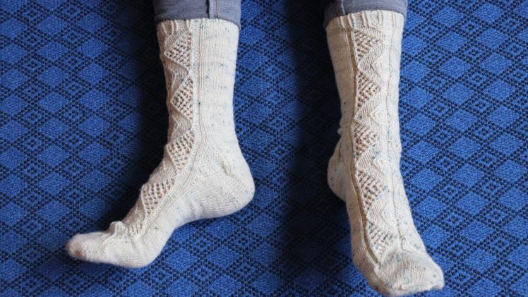 {Tricot} Sparkle Pop Socks – KnitCrate juillet 2020