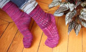 {Tricot} Delicate socks