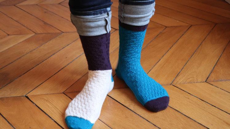 {Tricot} Les chaussettes Arizona