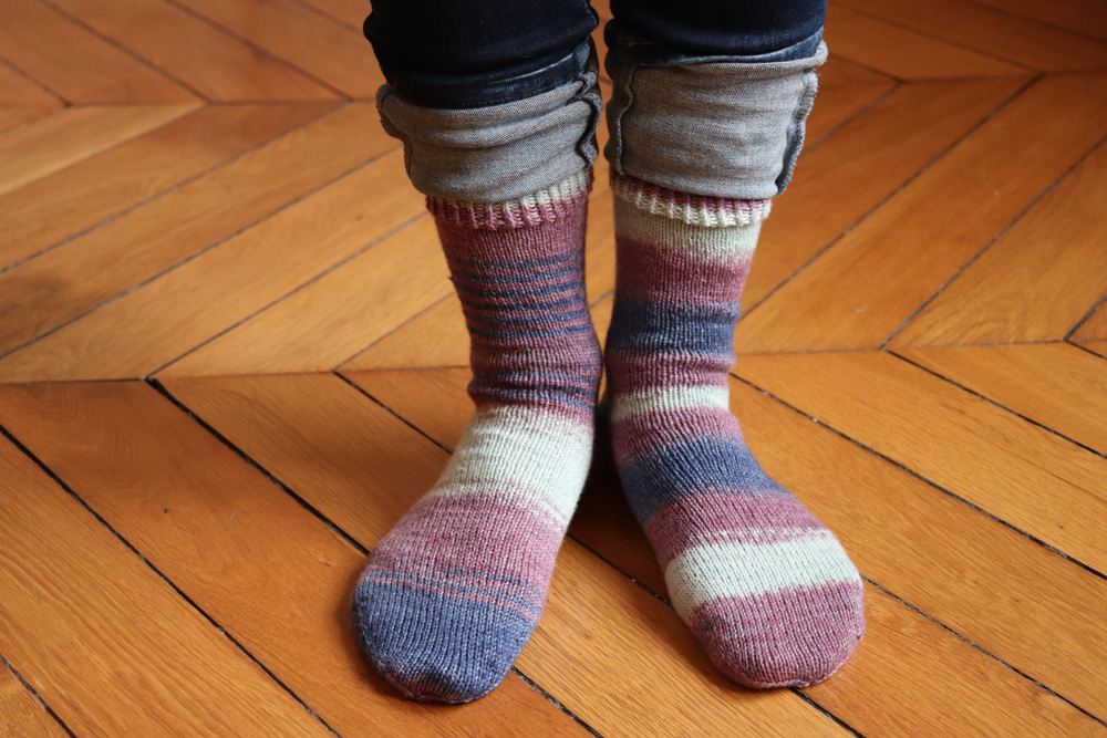 {Tricot} Serendipitous Sock – KnitCrate september 2020