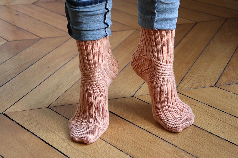 {Tricot} Twist Socks – KnitCrate octobre 2020