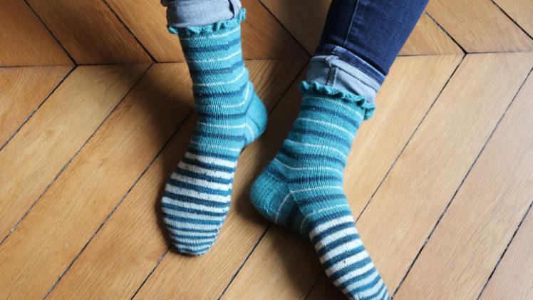 {Tricot} Les chaussettes Alice