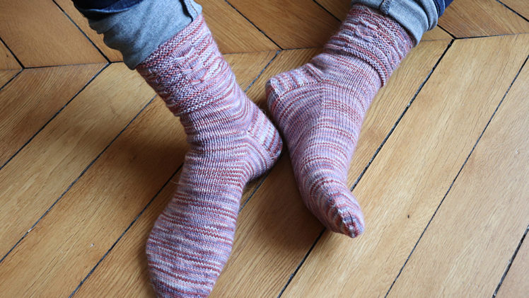 {Tricot} Dancing Butterfly Socks – KnitCrate mai 2019 + novembre 2020