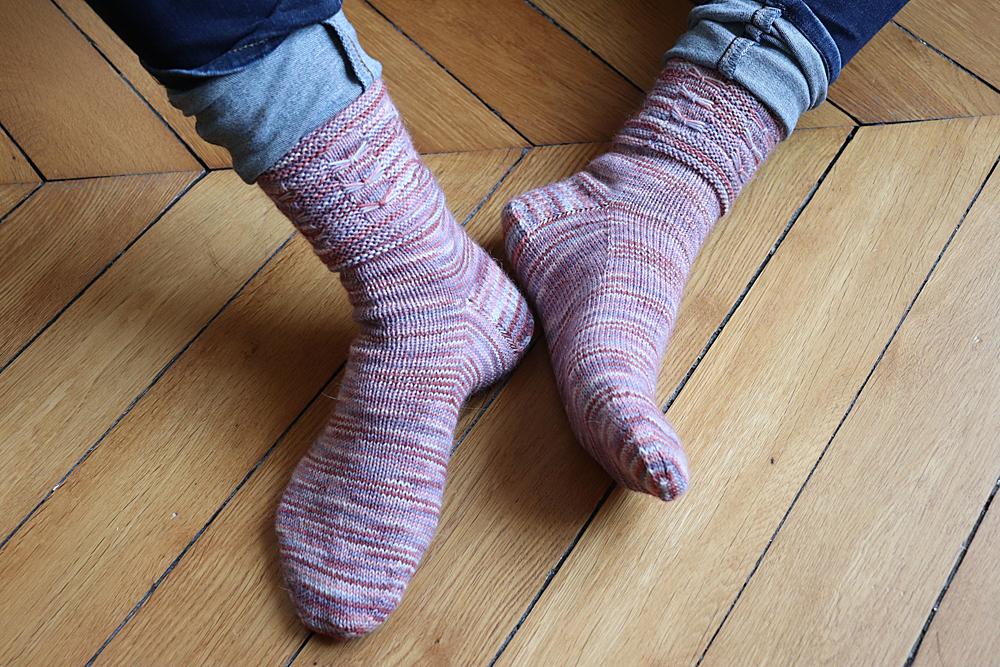 {Tricot} Dancing Butterfly Socks – KnitCrate mai 2019 + novembre 2020