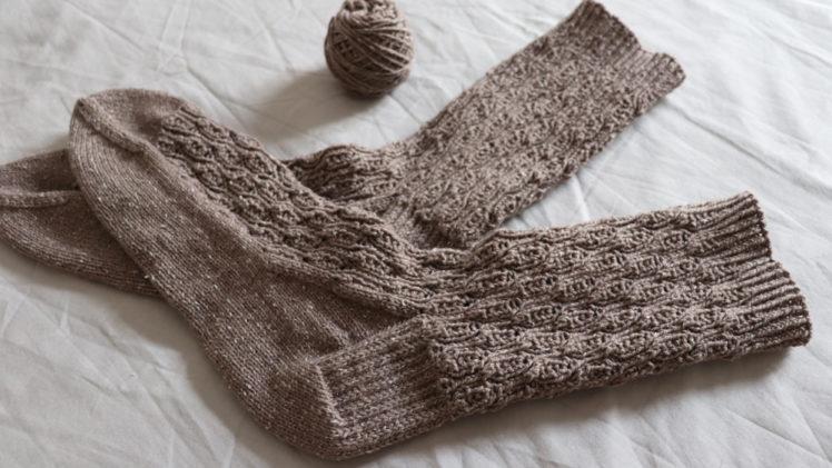 {Tricot} Squeezed Citrus socks