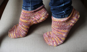 {Tricot} Socquettes How I roll #2