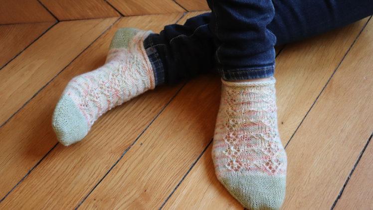 {Tricot} Poppy socks – box Du fil à retordre